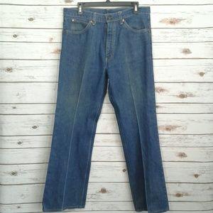 VTG Levis Orange Tab 517 Bootcut Jeans 36x32